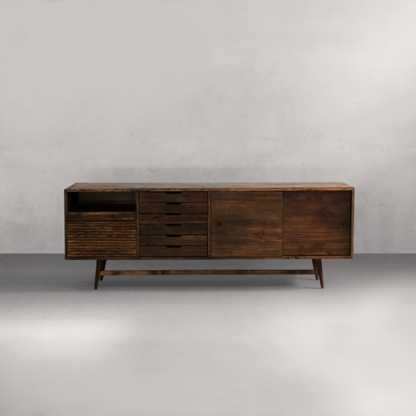Sustainable mid century modern wood furniture collection for Mid century furniture online