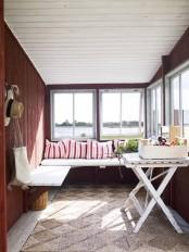 Svandinavian Sunroom Porch