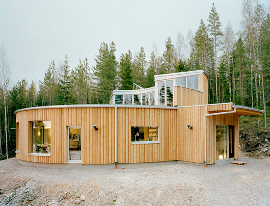 Sweden Passive Heating House