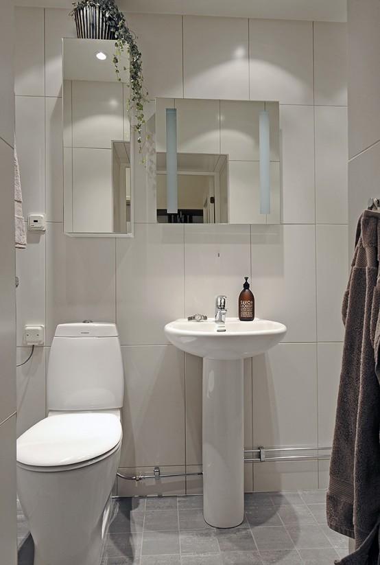 Superb Swedish Apartment Design With Open Floor Plan