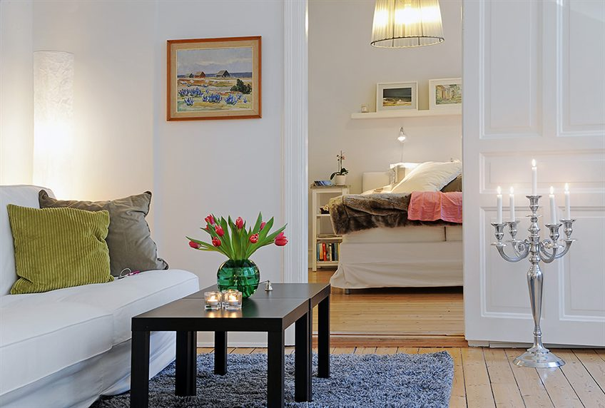 Swedish 58 Square Meter Apartment