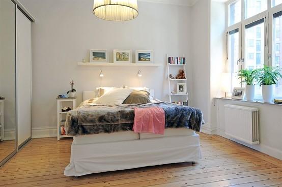 Swedish 58 Square Meter Apartment Interior Design With Open Floor Plan Digsdigs