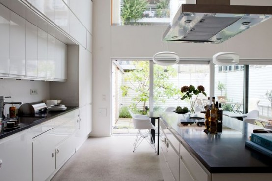 Swedish Townhouse With A Relaxed Interior And A Rooftop Garden