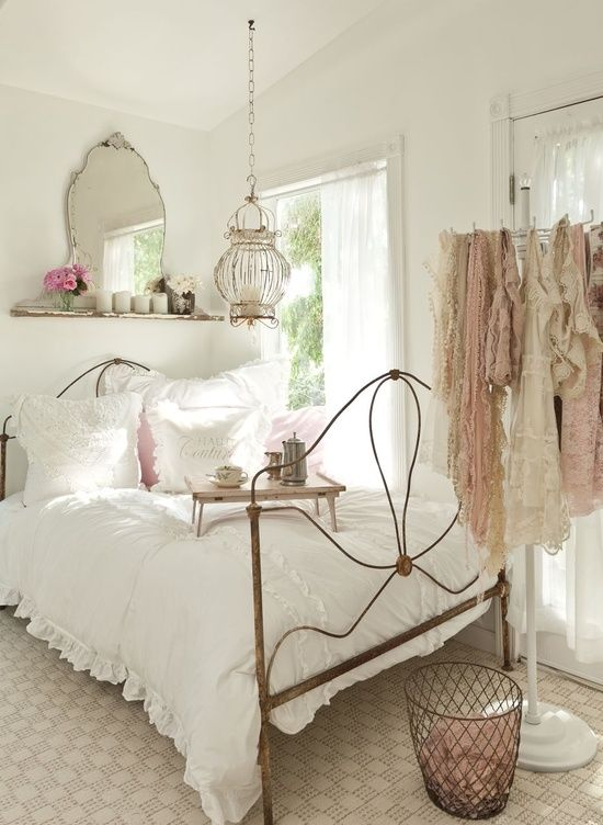 bedroom style. Sweet Shabby Chic Bedroom Decor Ideas 33 D cor  DigsDigs