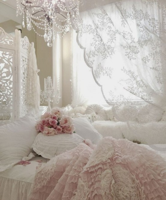 33 sweet shabby chic bedroom d cor ideas digsdigs - Meuble style shabby chic ...