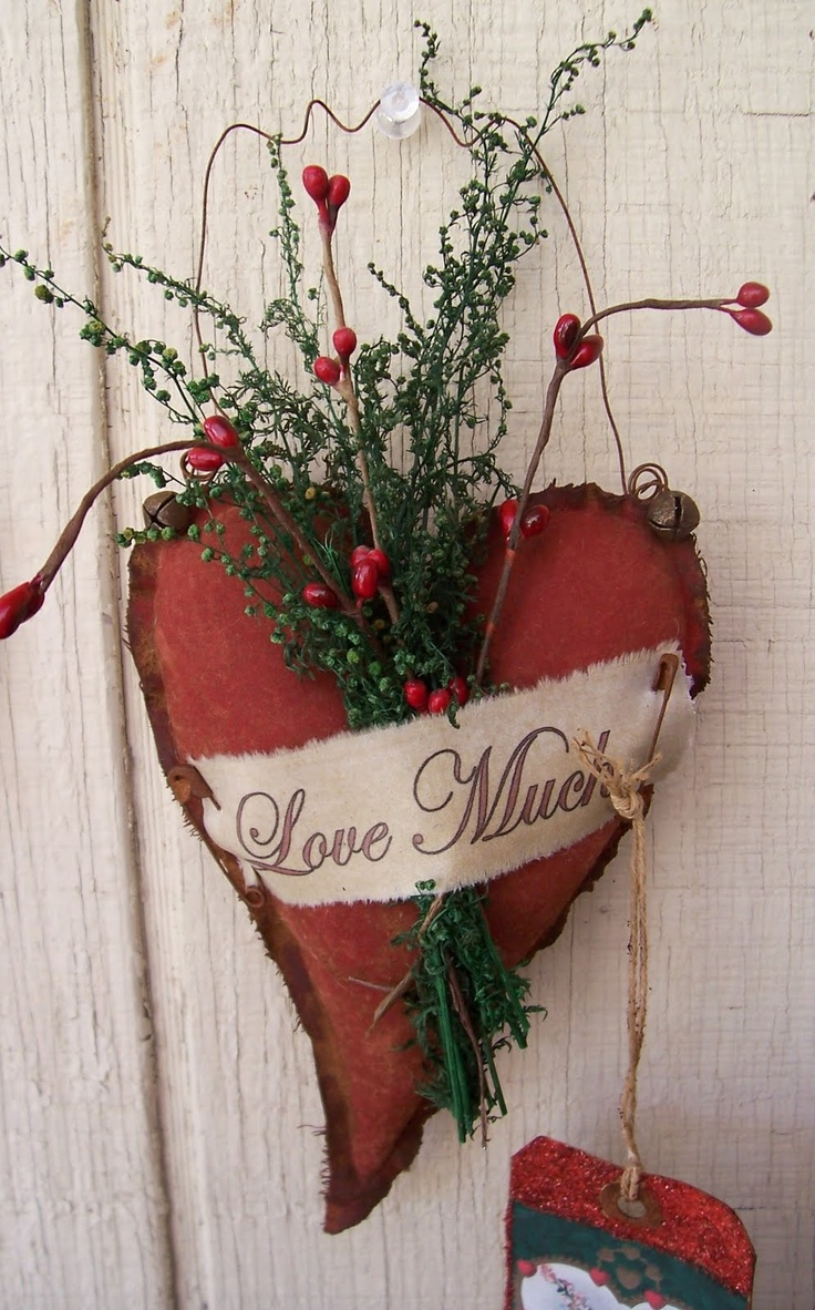 40 sweet shabby chic valentine s day d cor ideas digsdigs for Heart decoration ideas