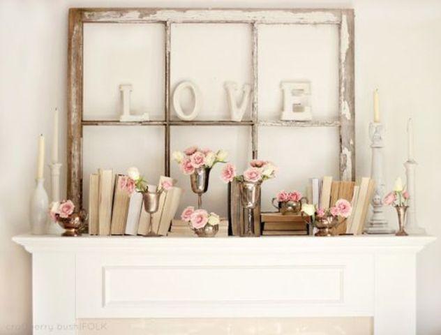 Sweet Shabby Chic Valentines Day Decor Ideas
