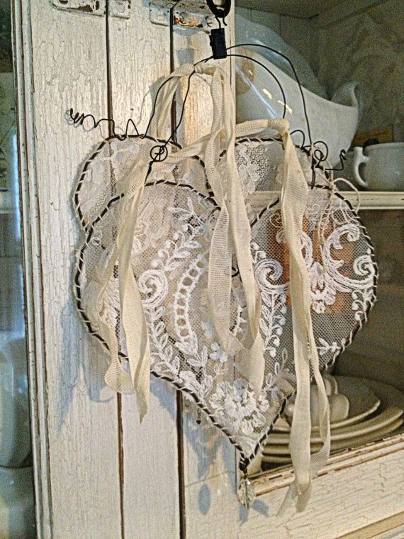40 sweet shabby chic valentine s day d cor ideas for Lampe style shabby chic