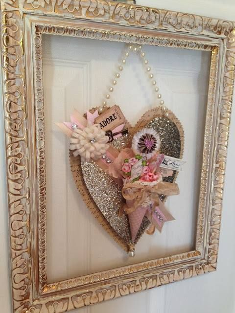 40 Sweet Shabby Chic Valentine U2019s Day D U00e9cor Ideas