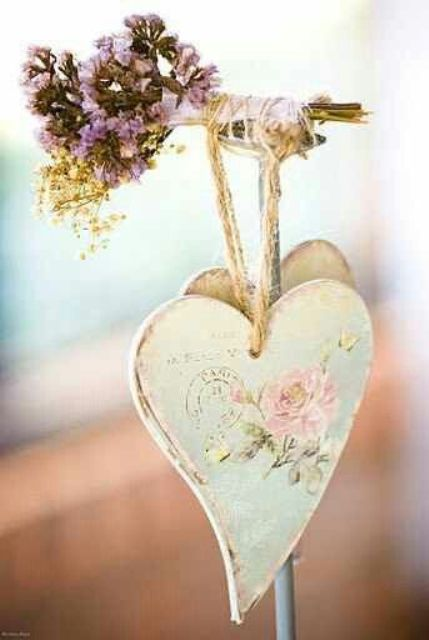 Sweet Shabby Chic Valentines Day Decor Ideas