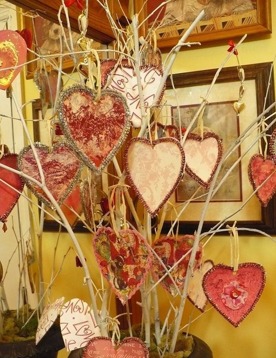 40 Sweet Shabby Chic Valentines Day Dcor Ideas DigsDigs