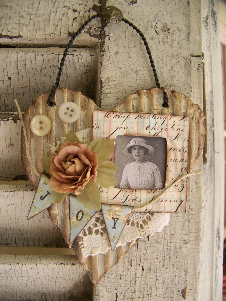 40 sweet shabby chic valentine s day d cor ideas - Decoration vintage pas cher ...