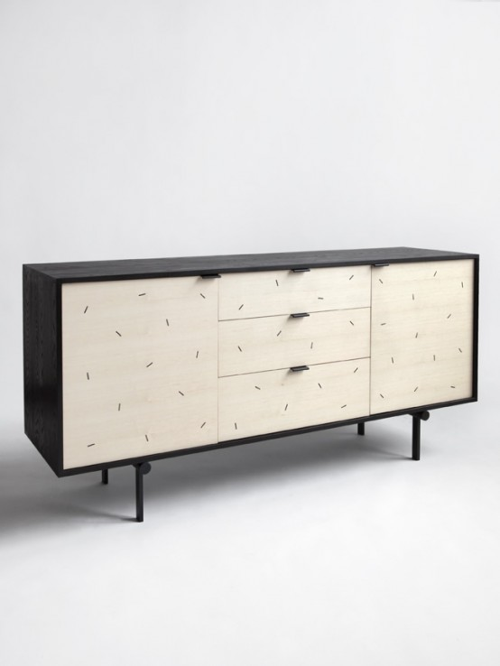 Sweet Tooth Twist Playful Cofetti Credenza