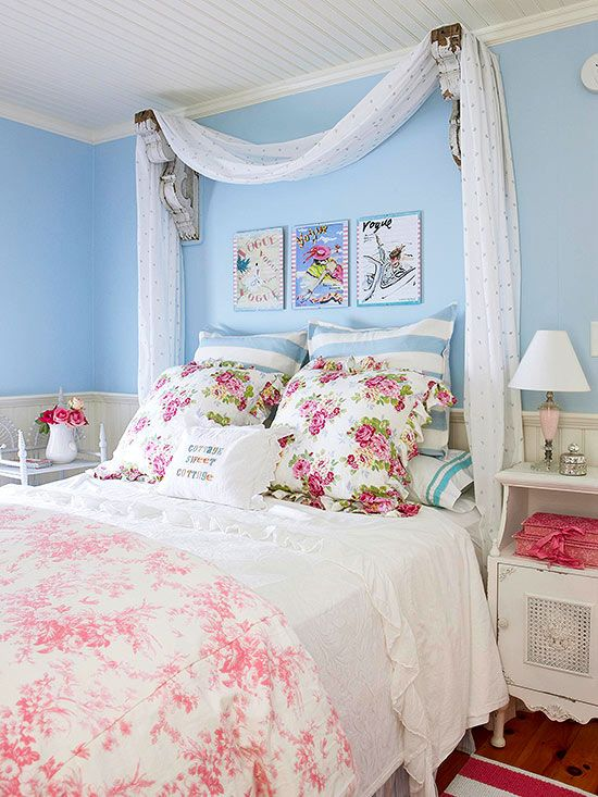 Lovely Sweet Vintage Bedroom Decor Ideas To Get Inspired