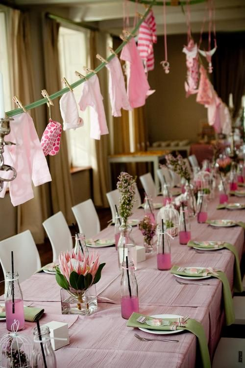 Baby Shower Decorations Table Settings ~ Sweetest baby shower table settings to get inspired