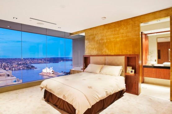 sydney luxury apartment bedroom