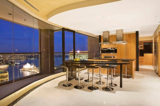 Luxurious Penthouse Dramatic Interior Interior Design Home Furniture Home Decorating Sydney S Luxury