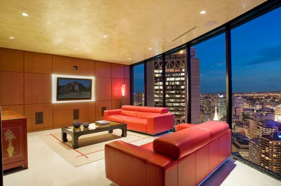 sydney luxury apartment living room