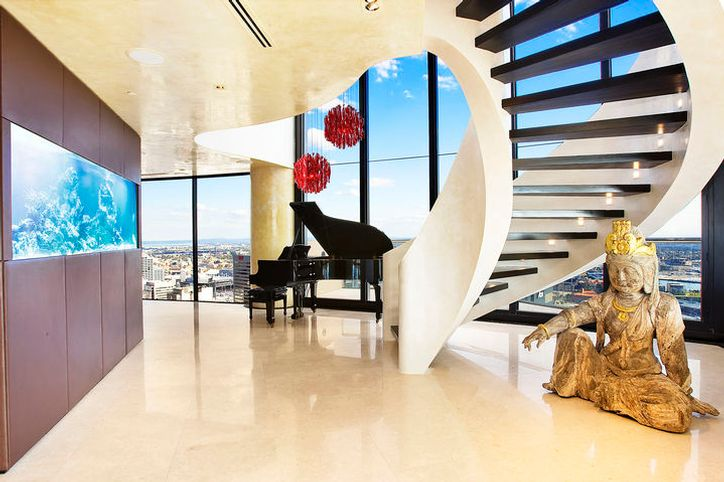 Luxurious Penthouse Dramatic Interior If You Have Money For Such Luxury Just Check It Out At McGrath