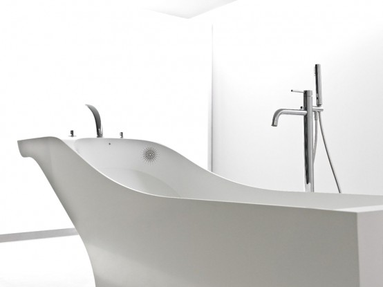 Symbiosis Minimalist Washbasin And Bathtub In One