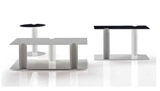 Stylish Nix Tables By B&B Italy