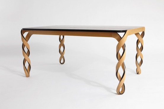 Amazing Dining Table Inspired By The DNA Structure