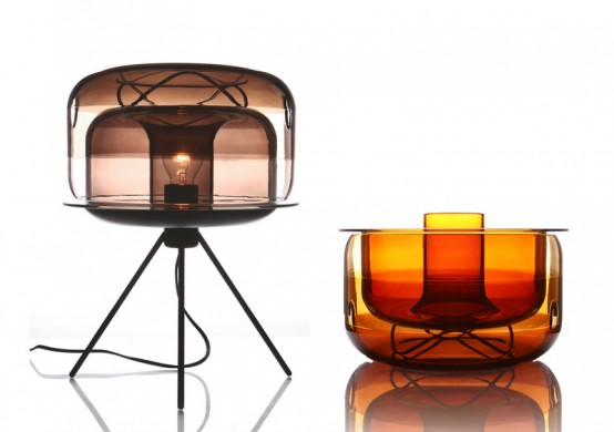 Table Lamp That Can Be Used As A Bowl