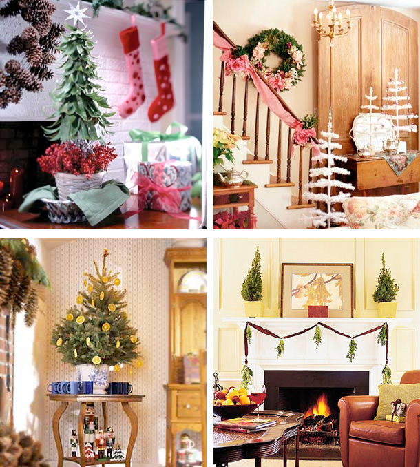 Picture Of tabletop christmas trees  1