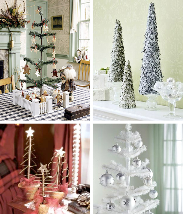 Picture Of tabletop christmas trees  2