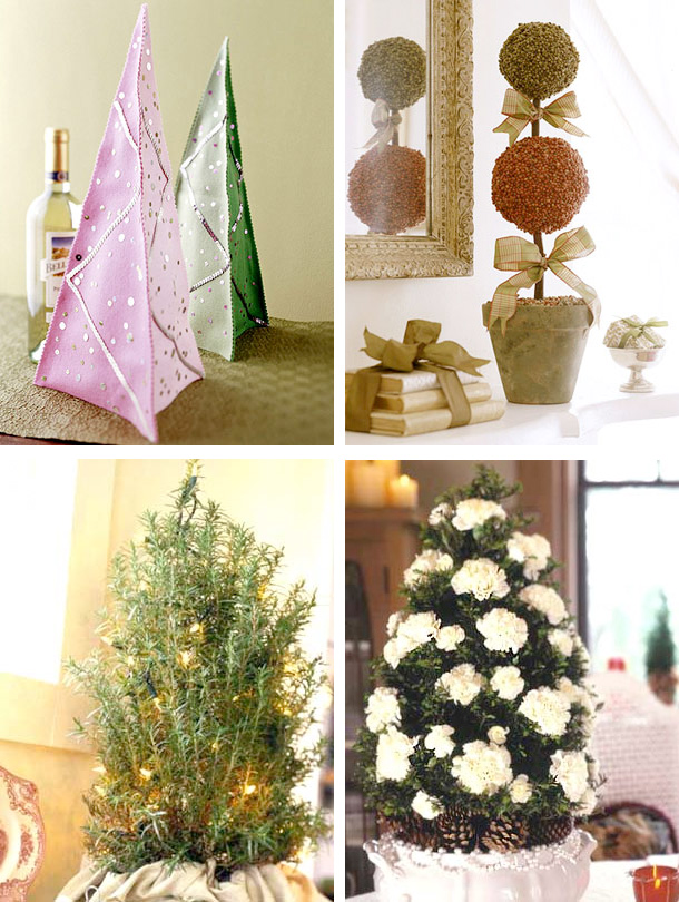 Picture Of tabletop christmas trees  4
