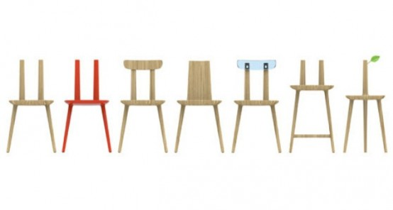 Tabu Chair Series To Synthesize Nature And Naturalize Industry