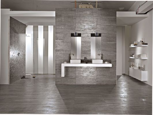 wood and metal ceramic tiles lignite from tagline digsdigs