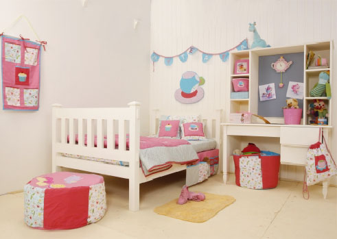 Tea Party Kids Room