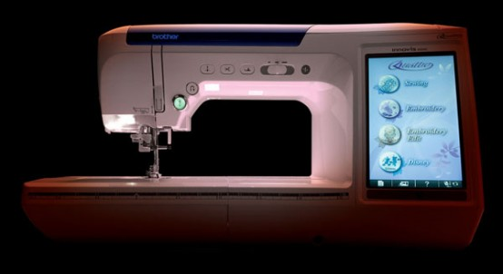 contemporary sewing machine