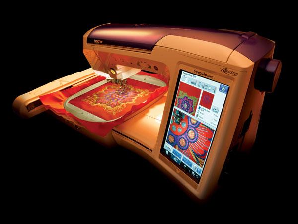 Sewing Machine for Tech-Savy Grandma