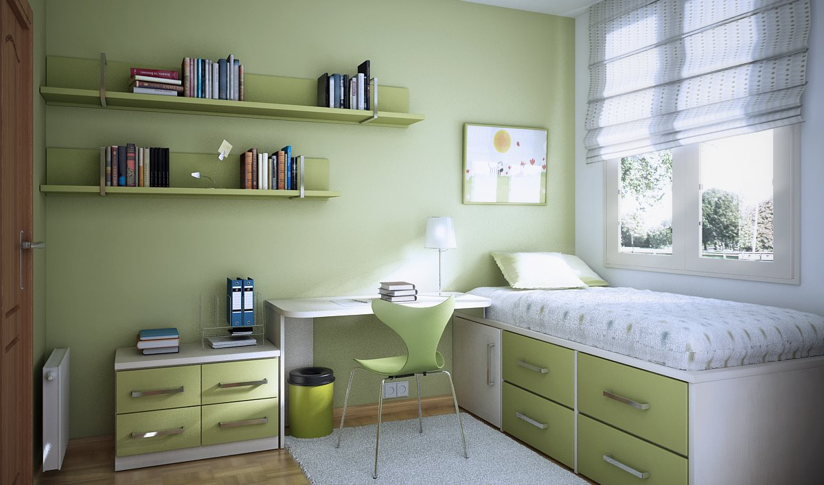 Teen Boy Bedroom Ideas for Small Rooms