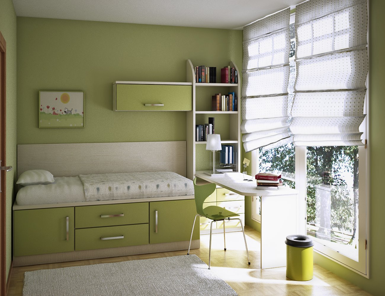 17 Cool Teen Room Ideas - DigsDigs on Teenage Room  id=91010