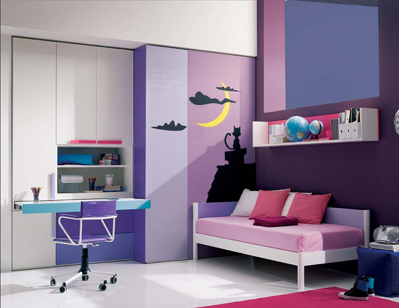 bedroom ideas for teenage girls purple.  13 Cool Teenage Girls Bedroom Ideas DigsDigs