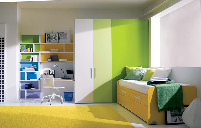 Great Green Teenage Girl Bedroom Ideas for Small Rooms 800 x 511 · 109 kB · jpeg