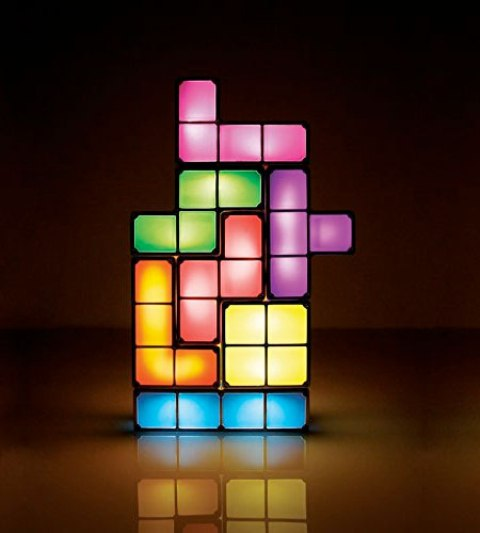 Tetris Lamp: Assemble Your Lights Yourself