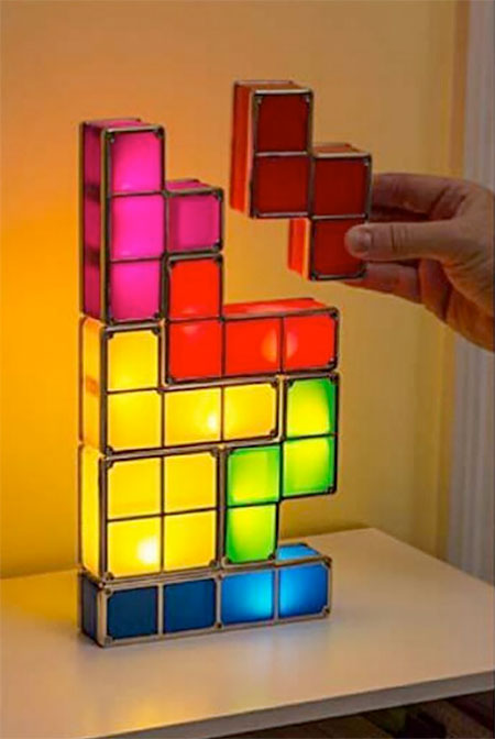 Picture Of tetris lamp assemble your lights yourself  3