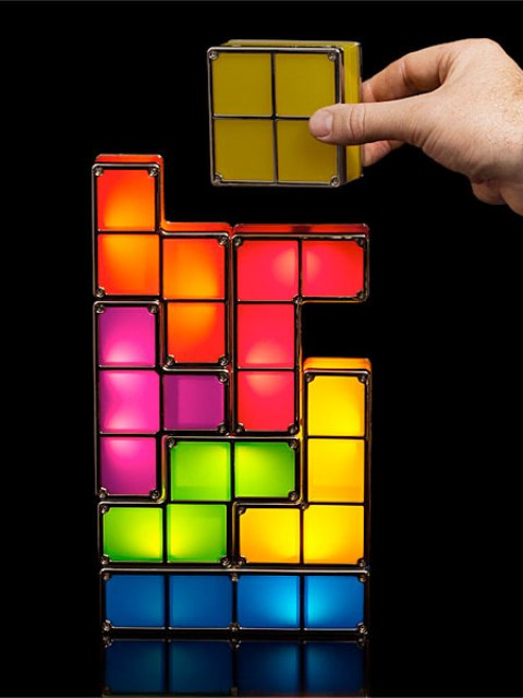 Picture Of tetris lamp assemble your lights yourself  4