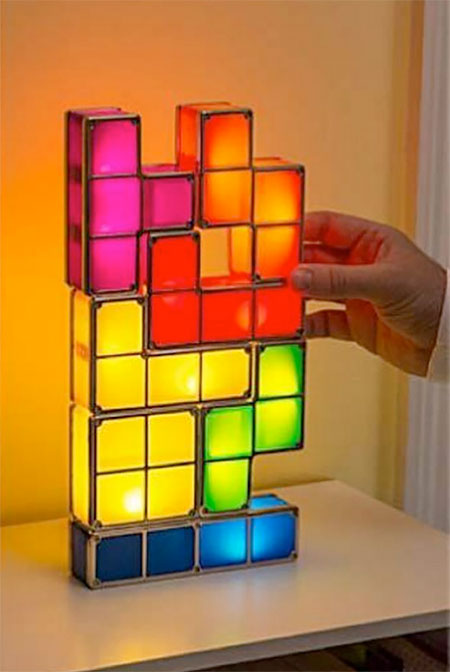 Picture Of tetris lamp assemble your lights yourself  5