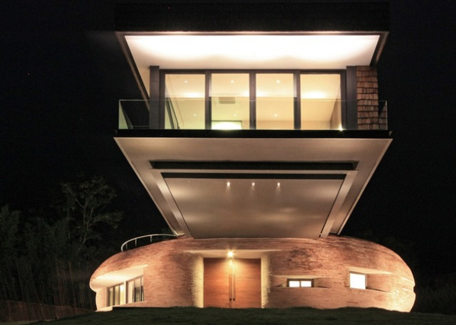 Thai Home Balancing Between European And Asian Architectural Traditions