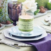 Thanksgiving Decor Ideas In Dramatic Purple