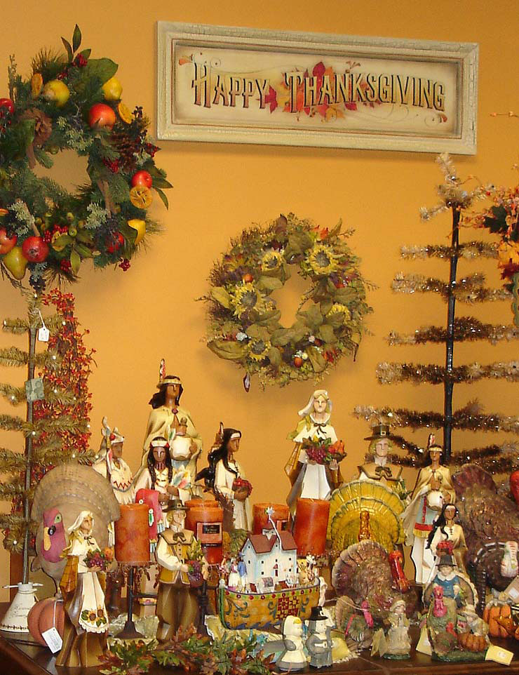 60 cool thanksgiving decorating ideas digsdigs for Thanksgiving home decorations