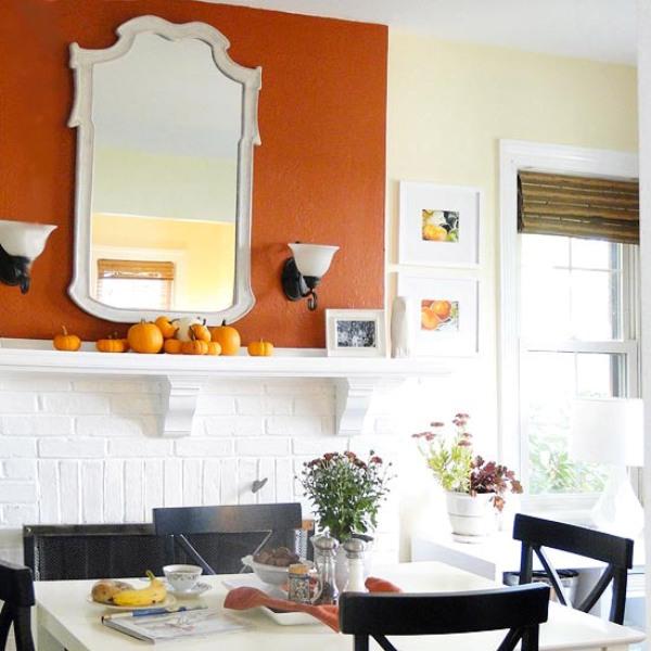 Fall Mantel Decorating Ideas 600 x 600
