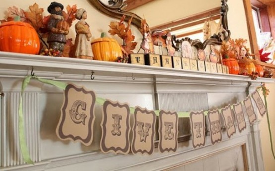 40 Thanksgiving Mantelpiece Dcor Ideas DigsDigs