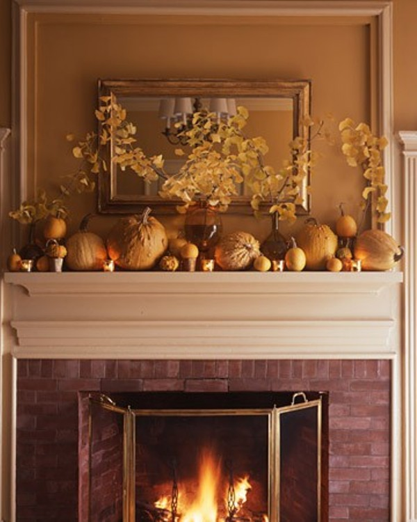Thanksgiving Home Decor Ideas: 40 Thanksgiving Mantelpiece Décor Ideas