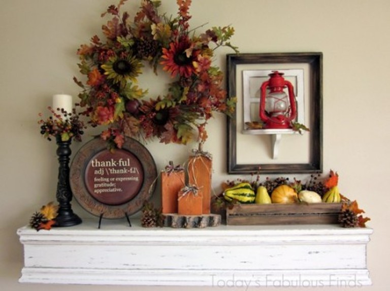 40 thanksgiving mantelpiece d 233 cor ideas digsdigs
